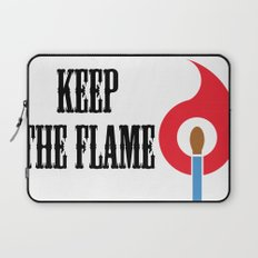 Keep the Flame Laptop Sleeve