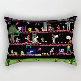 Retro Game Classics Rectangular Pillow
