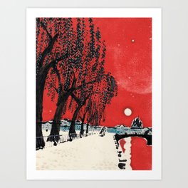 White Nights #1 Art Print