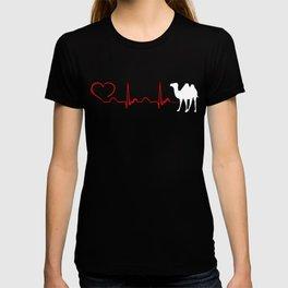 Heartbeat Wielblad Tee Shirt T-shirt