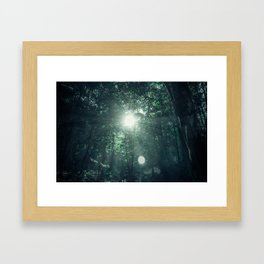 Canopy Worship Framed Art Print