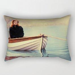 One Breath painting Rectangular Pillow