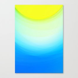 SUNNY DAY - Abstract Graphic Iphone Case Canvas Print