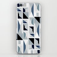house stark iPhone & iPod Skins featuring Stark  by Ilsa Falis