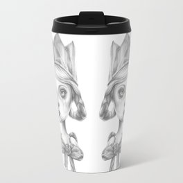 Beatrice in her party hat Travel Mug