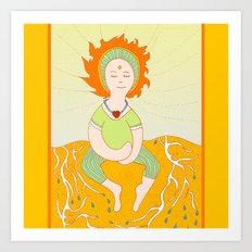 Gloria  Art Print