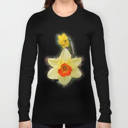 Daffodils in the Woods Long Sleeve T-shirt