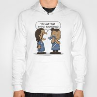 zuko Hoodies featuring You and That Stupid Boomerang by adho1982