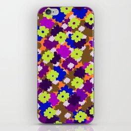 Fall Fun Flowers iPhone Skin