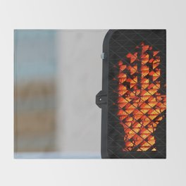 Pedestrian Stop Signal Throw Blanket