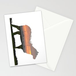 sunrise sheep Stationery Cards