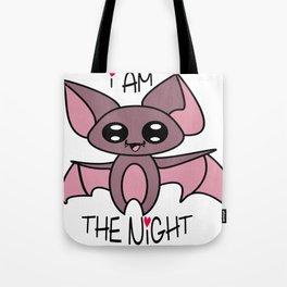 Yoru the kawaii bat who was afraid of the dark Tote Bag
