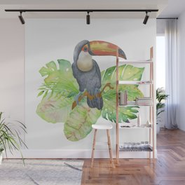 Toucan tropical and exotic Bird Wall Mural