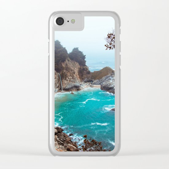 McWay Falls #vintage Clear iPhone Case