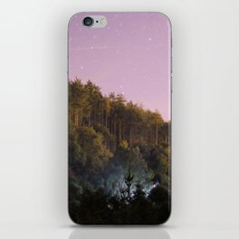 Daynight woodland activities iPhone Skin