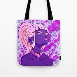 Violet Viola Tote Bag