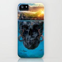 Skull Island iPhone Case