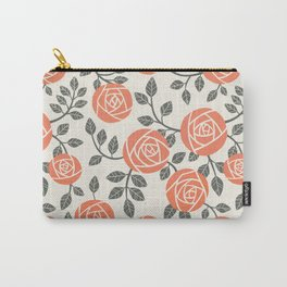 Retro roses Carry-All Pouch