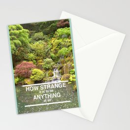 Aeroplane, How Strange Stationery Cards