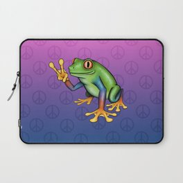 Peace Frog Laptop Sleeve