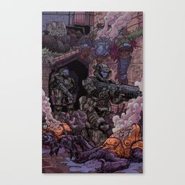 'Helljumpers' Canvas Print