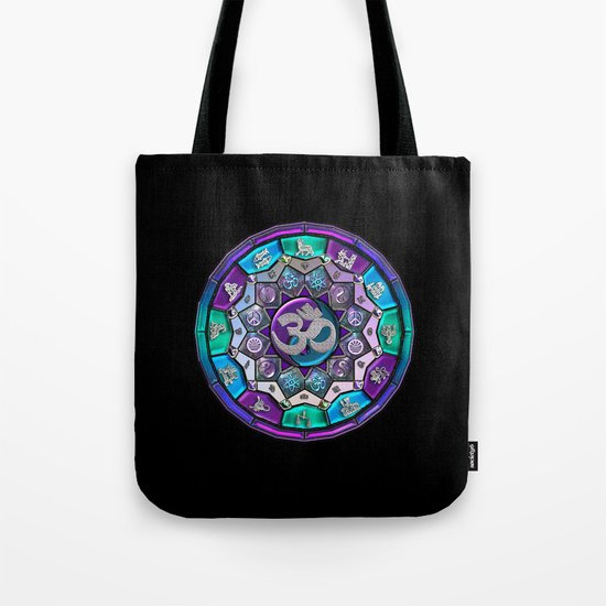 UROCK! Independence Mandala Tote Bag