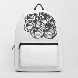 "Fashion Modern Design Print ""Brass Knuckles""! Rap, Hip Hop, Rock style and more Backpack"