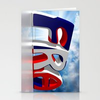 france Stationery Cards featuring France by Carlo Toffolo