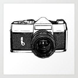Camera Pop Art Print