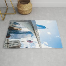 One World Trade Center and Oculus in New York Rug