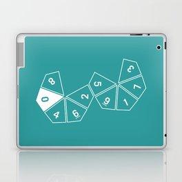 Teal Unrolled D10 Laptop & iPad Skin