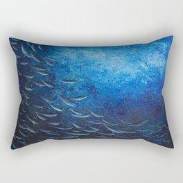 Deep Blue Rectangular Pillow