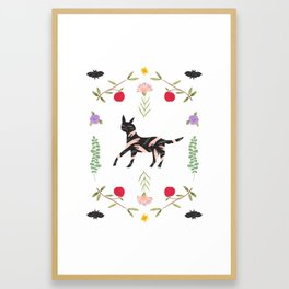 Eucalyptus Hound Framed Art Print