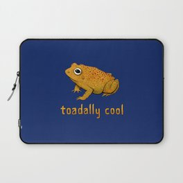 Toadally Cool Psychedelic Toad Laptop Sleeve