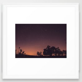IN THE AFTERNOON Framed Art Print