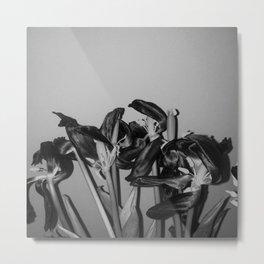 Dying Tulip Metal Print