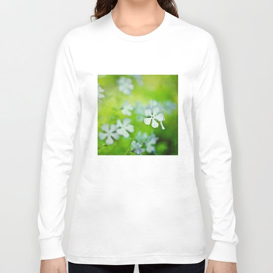 blue and green Long Sleeve T-shirt