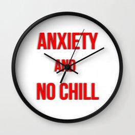 No Chill Wall Clock