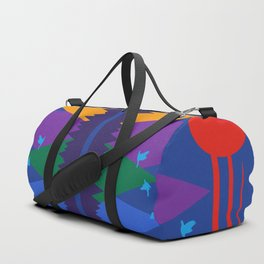Mountain Scene #7 Duffle Bag
