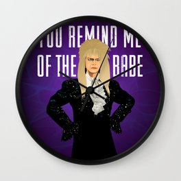 The Babe With The Power Wall Clock