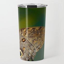 Butterfly eye of owl (Caligo eurilochus) Travel Mug