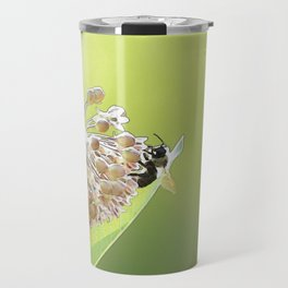 Blooming in the Morning Travel Mug