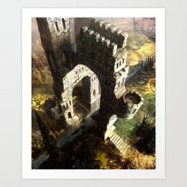 The Wizards Nest.  Art Print