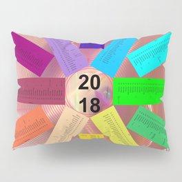Kalender 2018 de - keltische Feiertage Pillow Sham