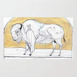 Bison Bison Rug