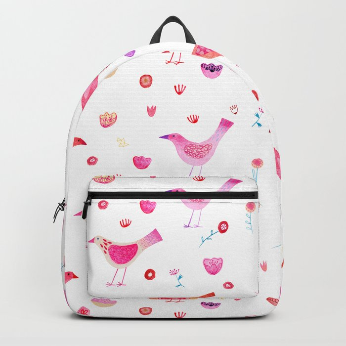 Birds and Blossoms Backpack
