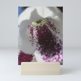 Up Close Digitalis Mini Art Print