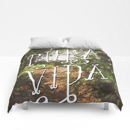 Pura Vida Costa Rica Jungle Life Caribbean Type Comforters
