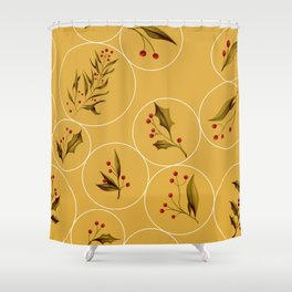 Cozy Baubles #society6 #xmas Shower Curtain