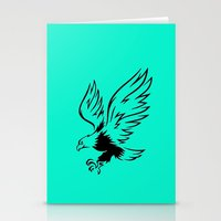 eagle Stationery Cards featuring Eagle  by ArtSchool